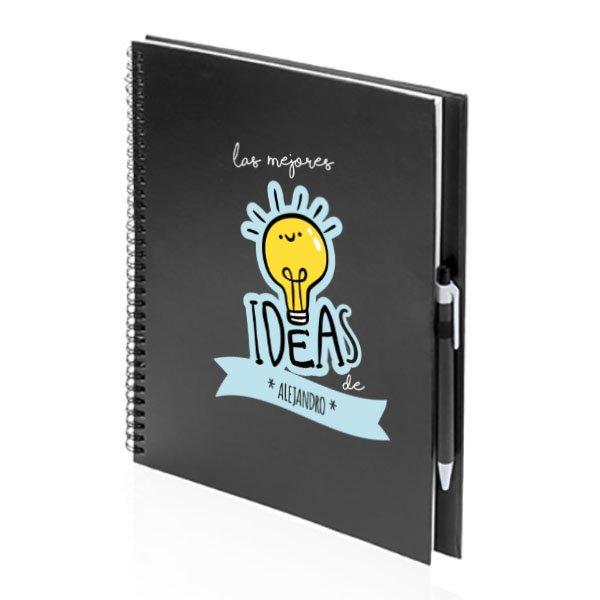 libreta para ideas