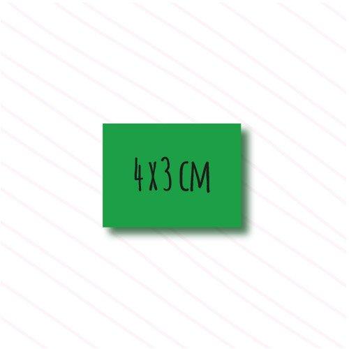 etiquetas rectangulares personalizadas