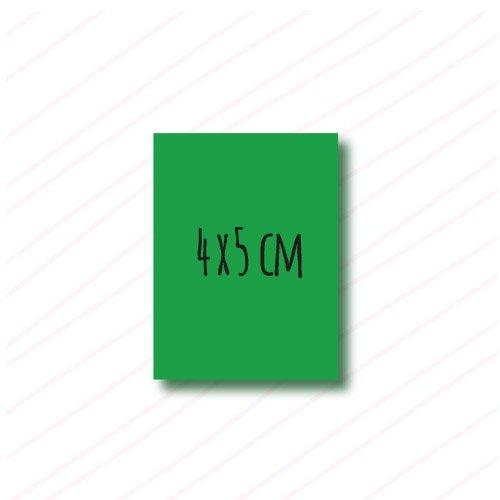 adhesivo rectangular personalizado