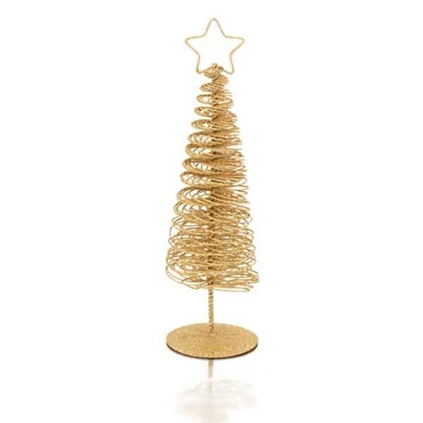 árbol de navidad metálico
