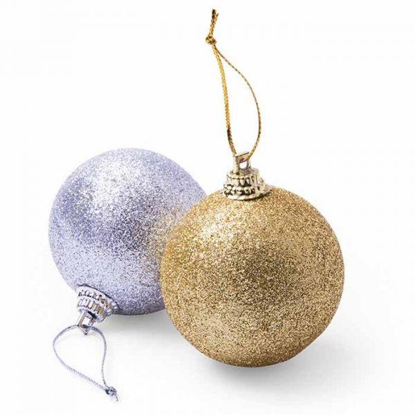 bolas de navidad metalizadas