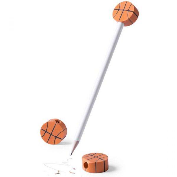lápices con gomas de deportes