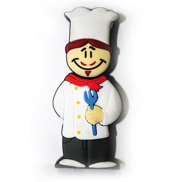 memoria usb cocinero
