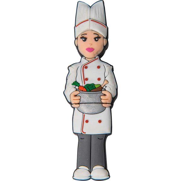 memoria usb cocinera