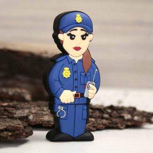 regalo para mujer policía