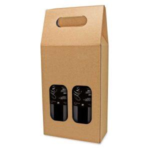 caja cartón para vino