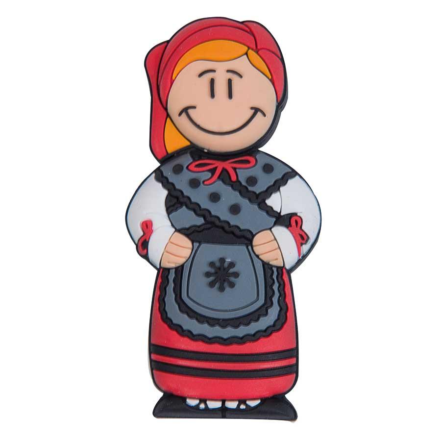 Galicia regalos personalizados. Pendrive figura de muñeira ...