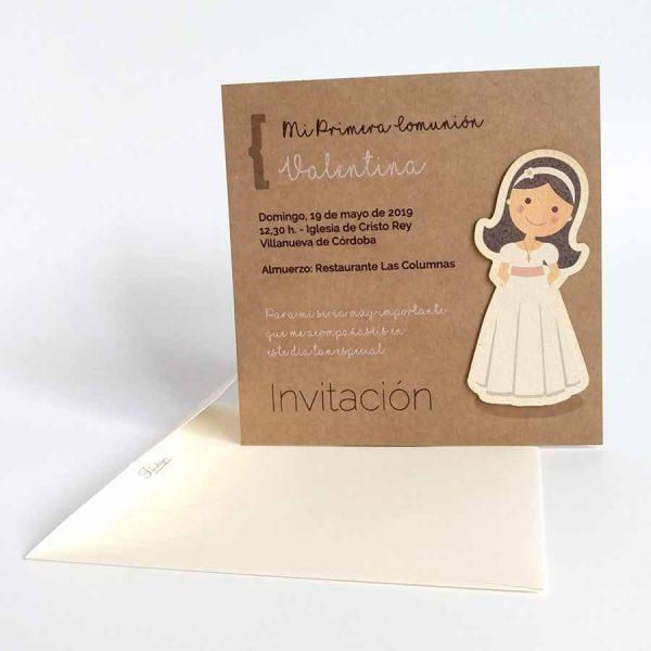 invitaciones primera comunión originales