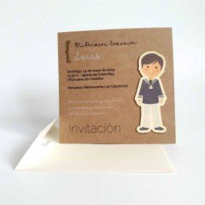 invitaciones comunion personalizadas