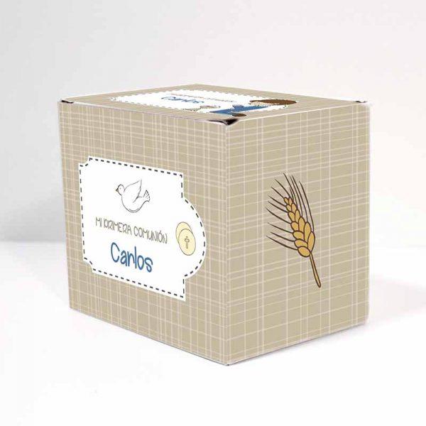 caja regalo comunión