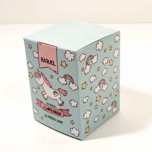 Caja personalizada para regalo de Comunión