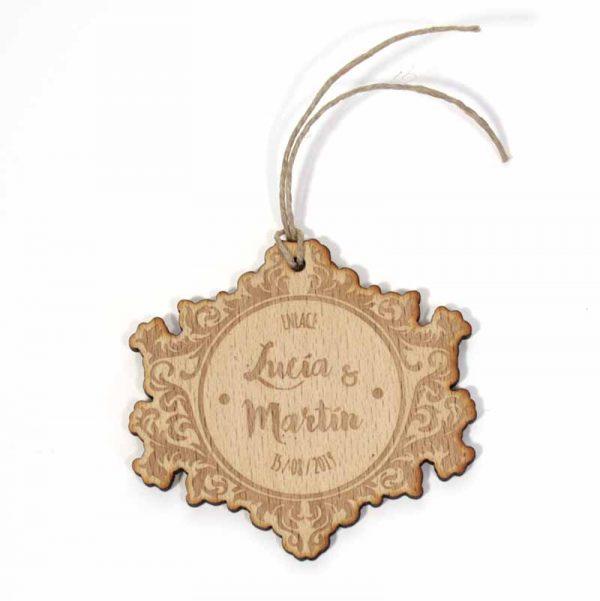 etiquetas de madera personalizadas