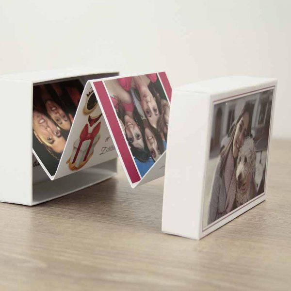 caja regalo personalizada con fotos