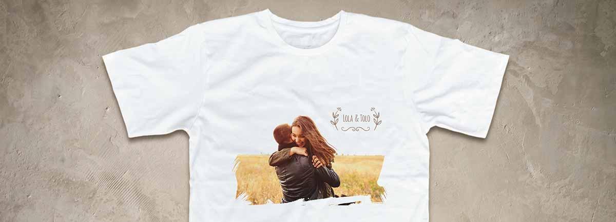 camiseta con foto