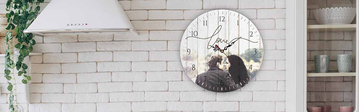 reloj pared personalizado