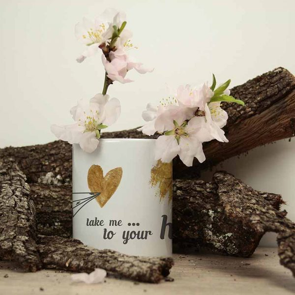 taza para san valentín