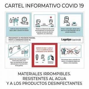 carteles covid 19